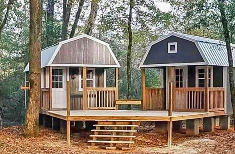 The 'We-Shed' Is a Dual Shed For Him and Her In Bryan